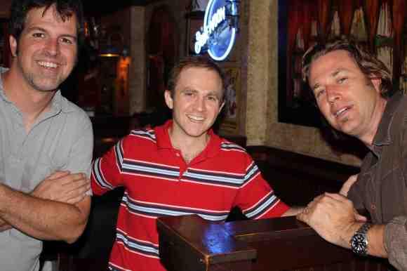 Tom, Nashville friend Matt & Shawn, and still no live photos