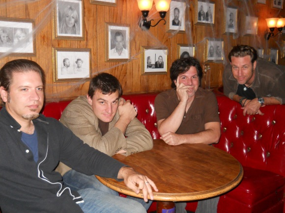 from 2011, left to right: Mike Bock, John Gregorich, Tom Townsend, Shawn Winters.