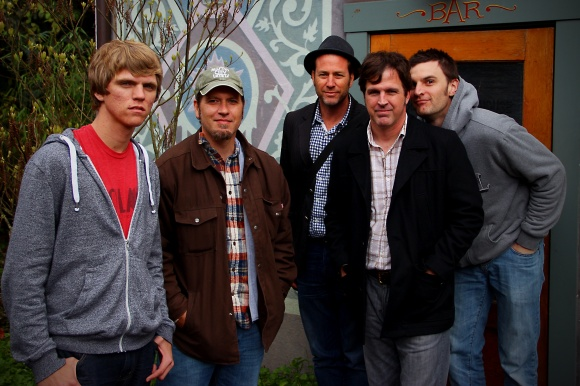 (left to right) James Collett, Mike Bock, Shawn Winters, Tom Townsend, John Gregorich.