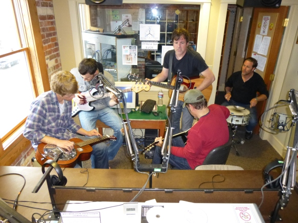AmCat plays the favorites on KYRS Crossroads, April 2013. Hosted by Bob Rice